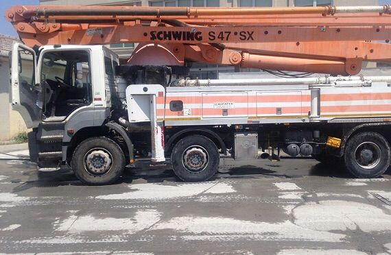 Schwing S47 SX with Mercedes Benz Axor 4140 year 2012