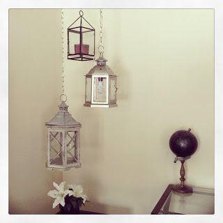 DIY 3 tier hanging lamp