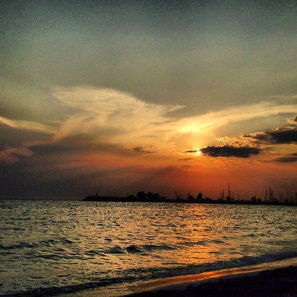 #MyPhotography #Thessaloniki #Greece #Sea #Sunset