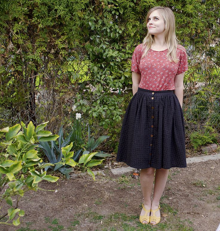 Colette Patterns Zinnia Skirt