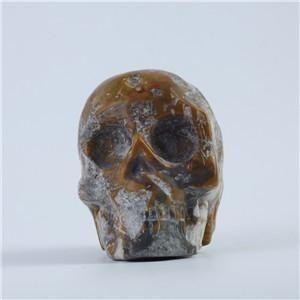 Natural Heterogenous Quartz Skull of the Spirits