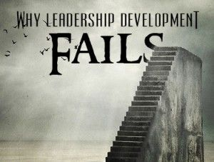 The #1 Reason Leadership Development Fails is an article about how training employee's fail every time and you must challenge, coach, and discipline them so they differentiate from others and think abstract.
