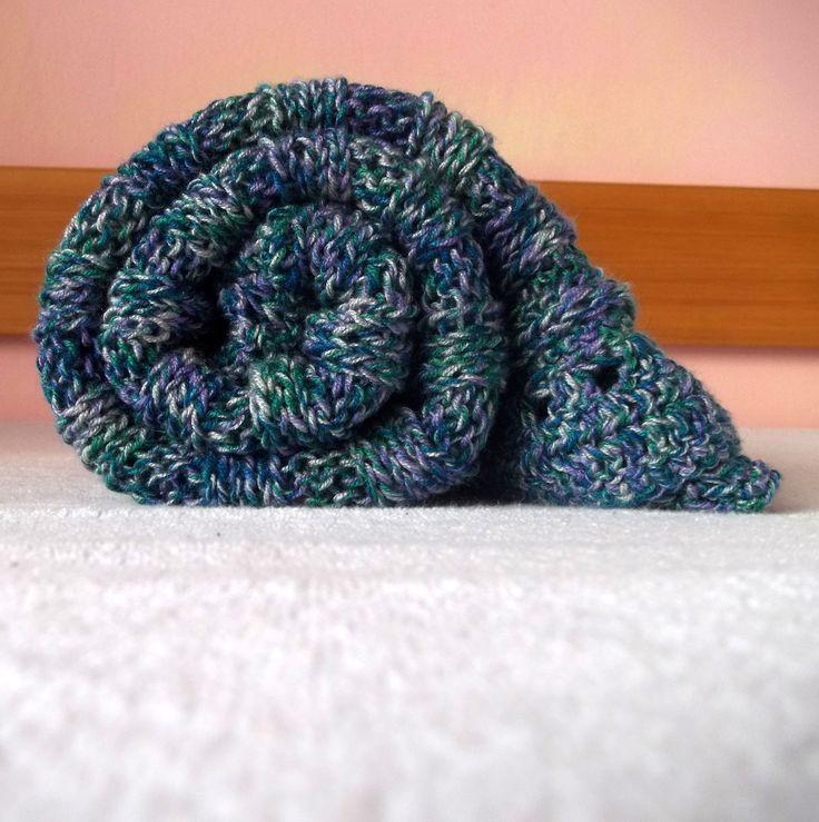Pletená deka do kočárku Knitting for baby