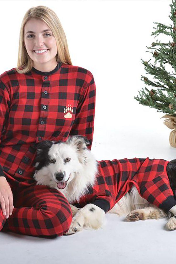 Plaid Moose matching onesies