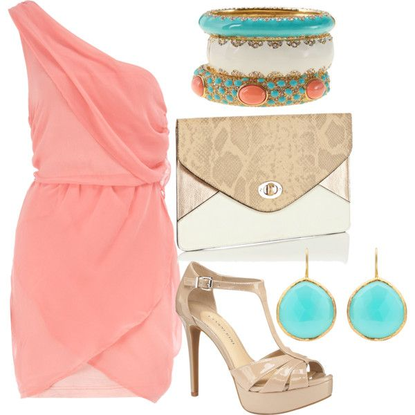 Summer Wedding, created by dyanna85 on Polyvore