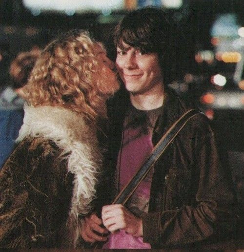 """I always tell the girls, never take it seriously. If you never take it seriously, you never get hurt, you always have fun. And if you ever get lonely, just go to the record store and visit your friends."" Almost Famous"