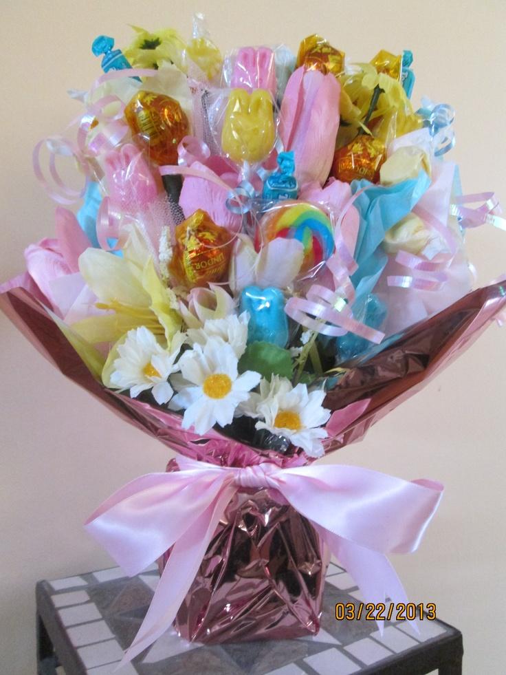 Best images about candy bouquet ideas on pinterest