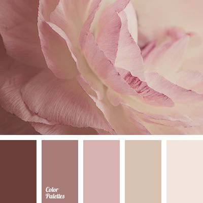 Soft and delicate colors. The pastel shades of pink, cream create a light and airy look. Brown perfectly sets off the bright colors. A touching and sentime.