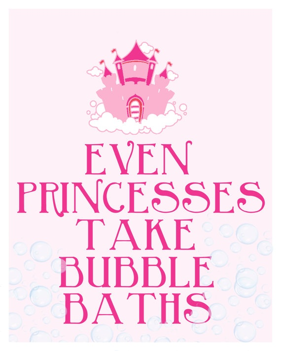 Princess Bathroom Digital Art Printable No 103 by TheMeekBoutique, $5.00