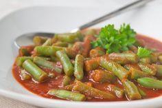 Fisolen-Gemüse - Rezept