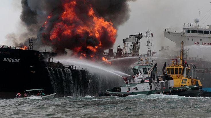 Feueralarm im Golf von Mexiko: Öltanker brennt vor Veracruz