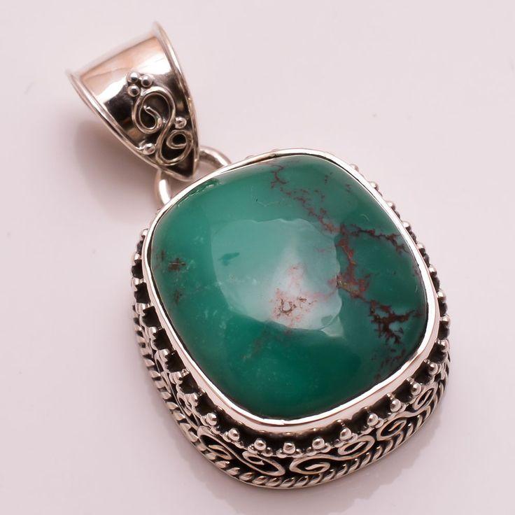 54 best handmade pendants images on pinterest sterling silver natural handmade turquoise gemstone 925 sterling silver vintage pendant jewelry handmade pendant audiocablefo