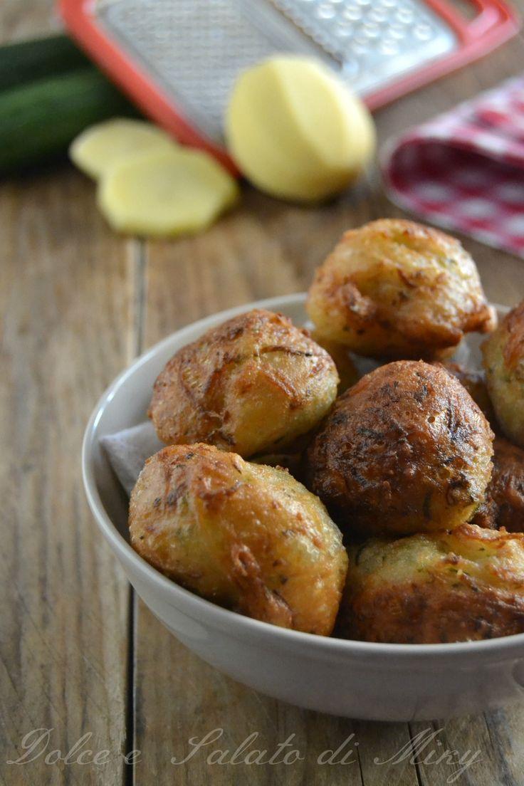 ricetta frittelle di zucchine e patate   Dolce e Salato di Miky