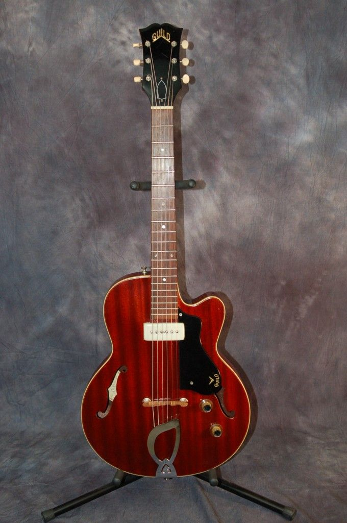 Vintage Guitars for Sale – 1963 Guild Freshman M-65-3/4 Guitar with Original Case..SOLD!!!