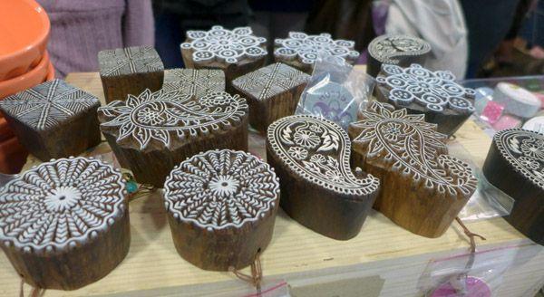 Preciosos sellos de madera