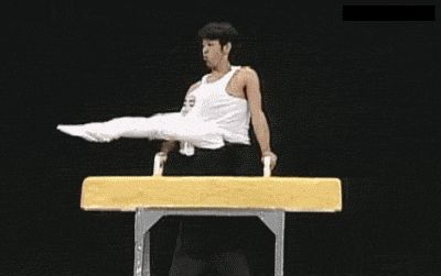 Asians are amazing at gymnastics, wait�what? .... I laughed way too hard at this...