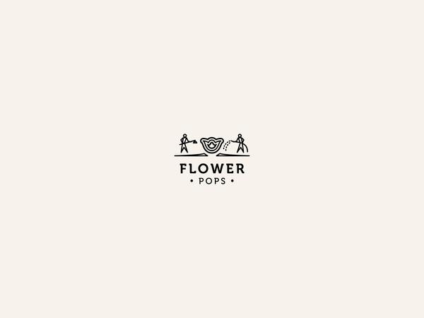 A lot of flower logos by Anna Kovecses, via #Behance #Prosite #Design #Logo