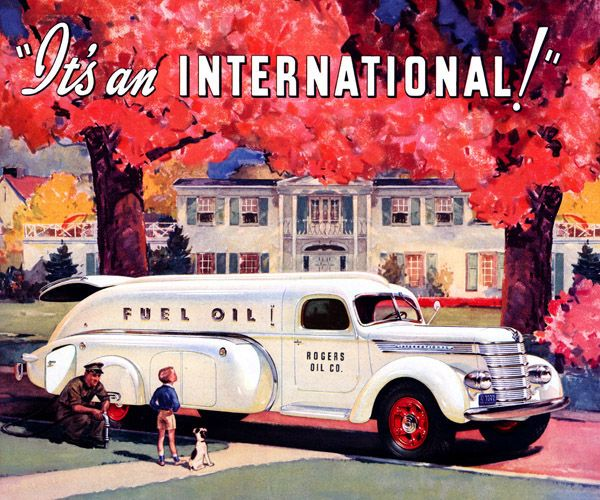 Greatest Name in Trucks   |   International Harvester, 1939