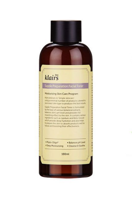 "The 18 Korean Beauty Buys That Always Sell Out #refinery29  http://www.refinery29.com/best-korean-beauty-products#slide-17  ""The Klairs Toner is a longtime fan favorite,"" Myung says.""It's great for people of all skin types and has been constantly gaining popularity."" She also notes that it's been featured as the number-one toner on Korean app Glowpick.Klairs Supple Preparation Facia..."