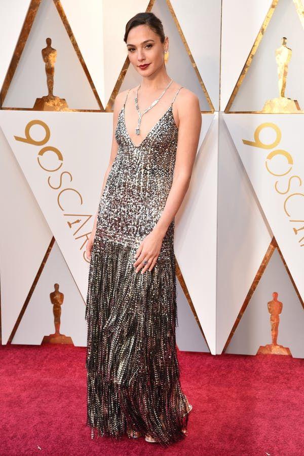 Gal Gadot in Givenchy, 2018 Oscars.