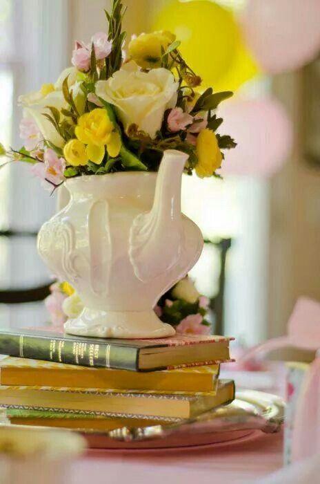 Time tea flowers