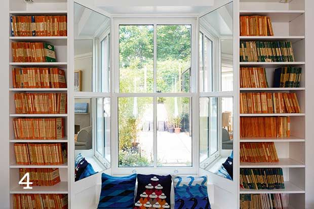 insert book shelves into loft eaves storage - Google Search