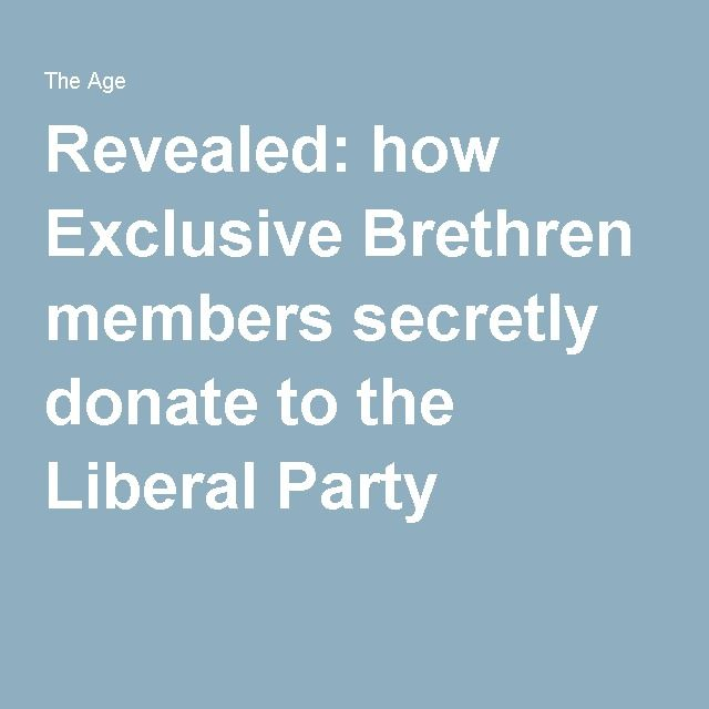 liberal party definition