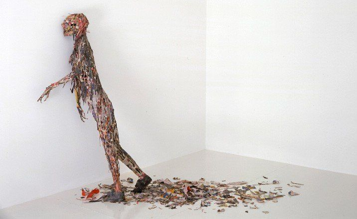 'Zombie', Tom Friedman, 2008 © Tom Friedman, courtesy Gagosian Gallery - Tom Friedman exhibition, Wallpaper* Magazine