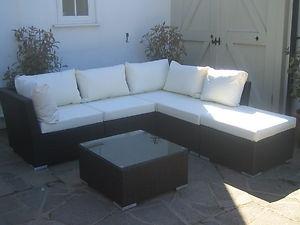 RATTAN GARDEN FURNITURE MODULAR CORNER SOFA SET   eBay  53560 best Patio images on Pinterest   Cushions  Outdoor furniture  . Rattan Garden Corner Sofa Ebay. Home Design Ideas