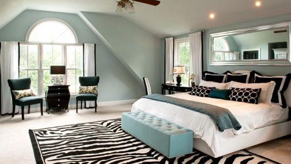 M s de 25 ideas incre bles sobre dormitorios cebra en for Cuartos de parejas decorados