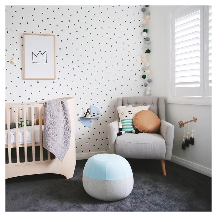 A nursery who is ready for a baby | #jollyroom