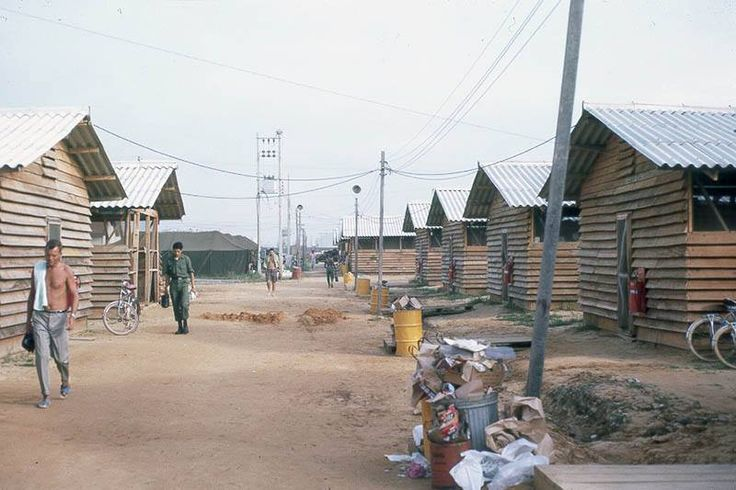 If you were in I Corps in Vietnam before the Siege of Khe Sanh, you were familiar with the transient barracks at Danang. Marines and Corpsmen of the 26th Marines and the 9the Marines who endured the Siege, knew these environs. Thanks to The NAM for posting this photo.  BRAVO! COMMON MEN, UNCOMMON VALOR. DVDs @ http://bravotheproject.com/buy-the-dvd/.  #USMC #BRAVO! #KheSanh #VietnamWar
