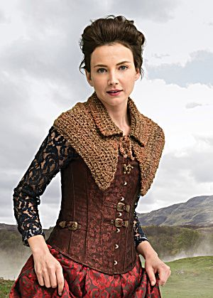 Need a little extra warmth around your shoulders this winter? Outlander the Series Downloadable Pattern: The Hunt Enthralling Capelet (Crochet) (Image1)