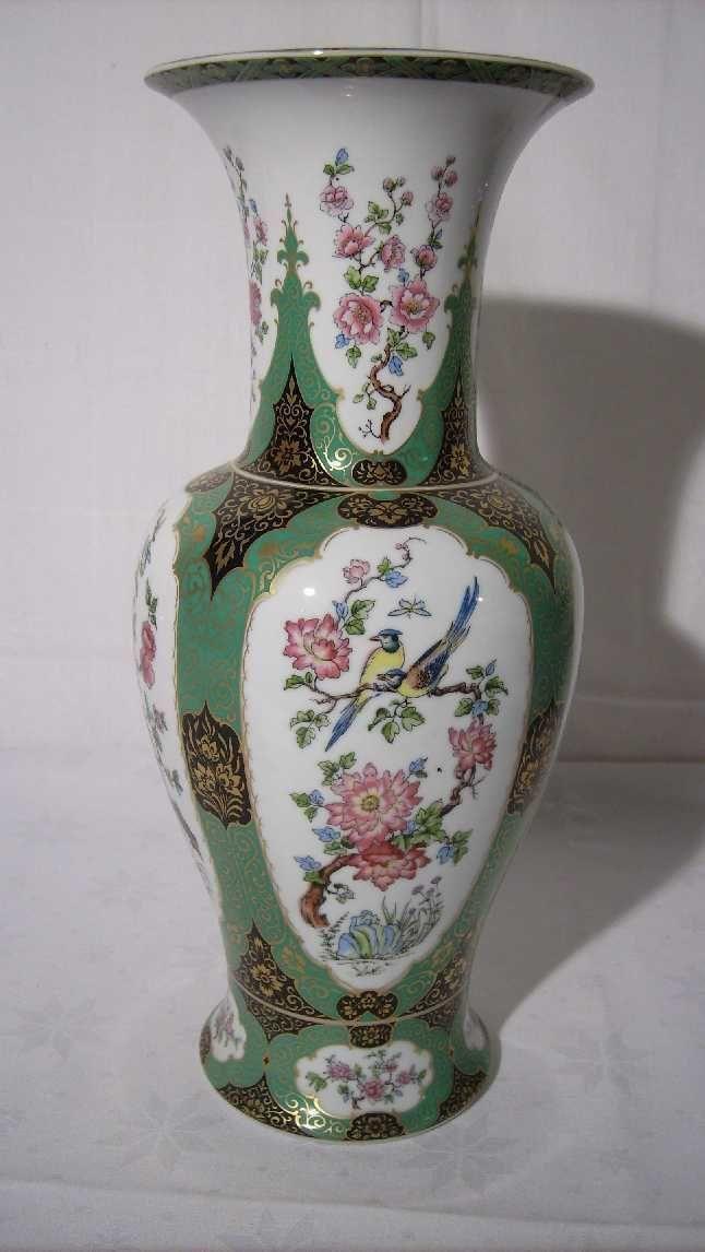 Gro 223 E Vase Ak Kaiser Alka Kunst Mandschu Bodenvase 34 5 Cm