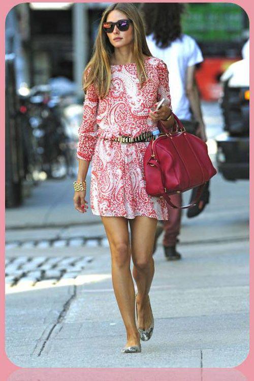 Olivia Palermo y zapato plano