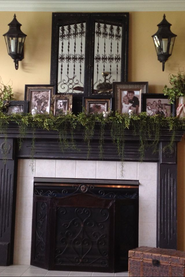 16 best house mantle decor ideas images on pinterest for Mantel decorating tips