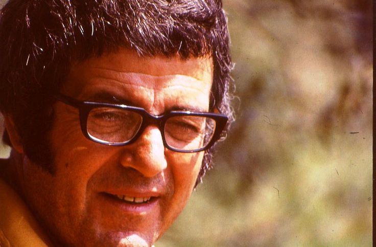 METiN ERKSAN, KADIN HAMLET filminin çekiminde, 1976 Haziran