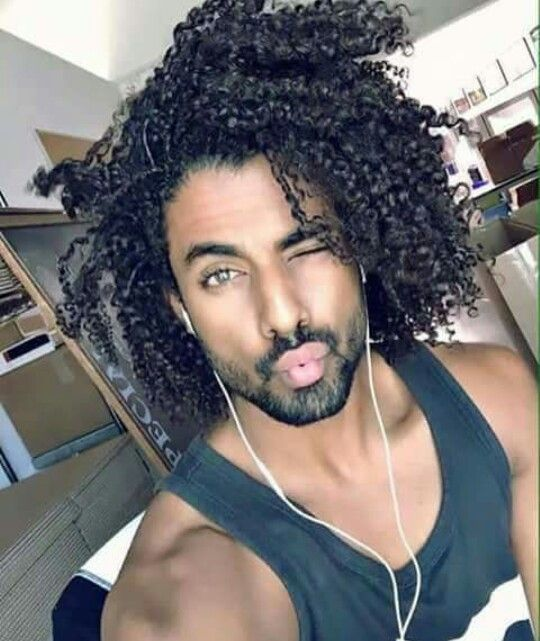 Mixed Guys With Curly Hair Tumblr Www Pixshark Com