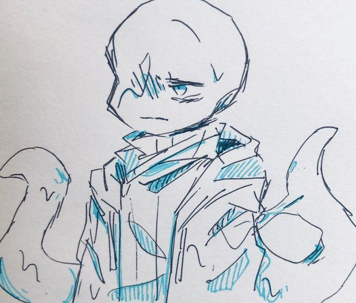 Рисунки карандашом андертейл найтмер