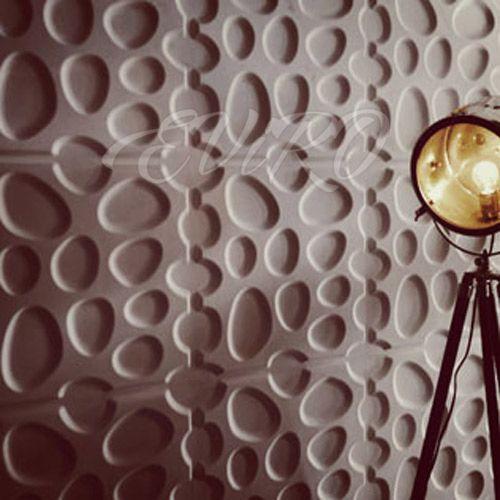 Гипсовая панель Кругляк так же прекрасна как пчелиные соты, она гармонична и натуральна как улей. Но в тоже время имеет и слегка агрессивный и строгий нрав. Идеальное решение, а применение данной гипсовой панели будут спальни, гостевые комнаты и прочие интерьерные решения с использование данного материала.
