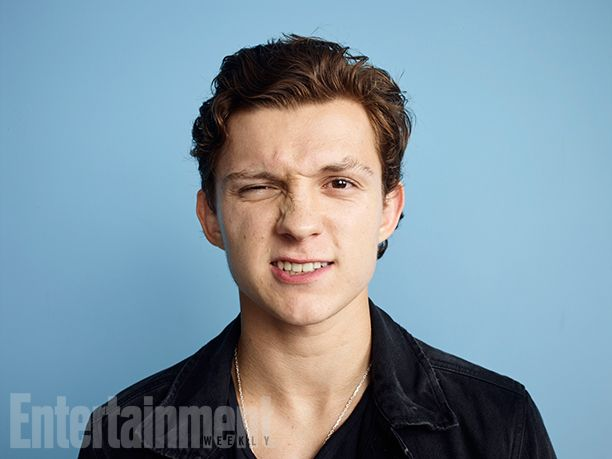 Comic-Con 2016: See Portraits of Marvel Studios Stars | Tom Holland, 'Spider-Man: Homecoming' | EW.com