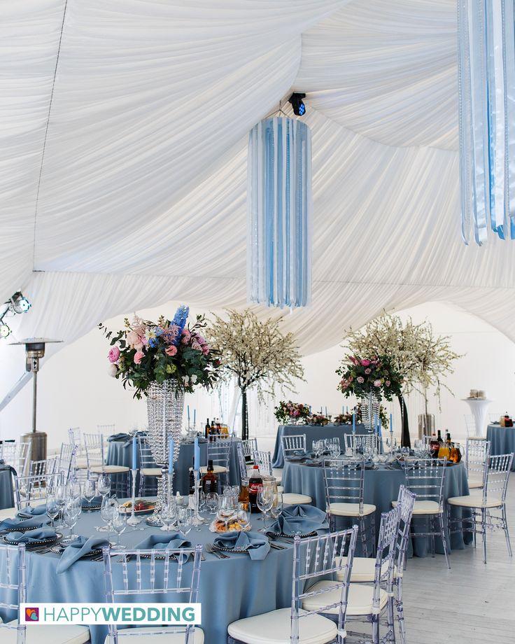 Vorreste sposarvi all'aperto ma temete la pioggia? Su Happy Wedding troverete la location perfetta per allestire una tensostruttura!