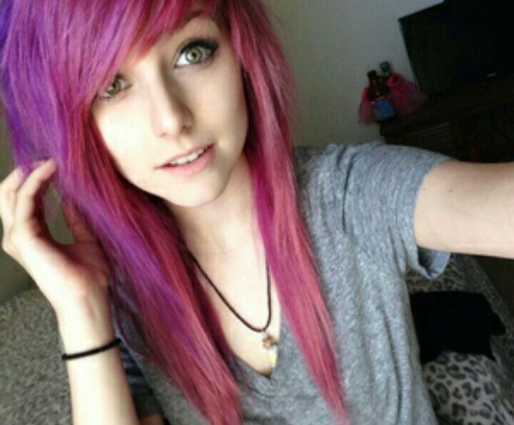 Best Gothemoscene Girls Images On Pinterest Goth - Emo girl hairstyle video