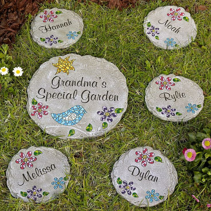 garden stepping stones for sale uk ideas personalized mosaic stone grandma