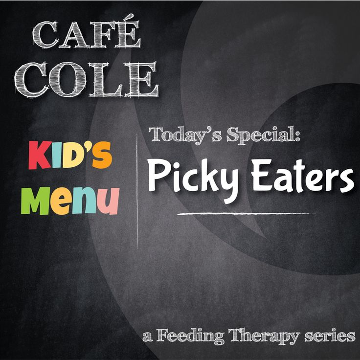 """We continue our series with """"Picky Eaters""""...when is picky too picky? What is """"failure to thrive""""? When and where can I get help?   Read the Cole blog and find out!"""
