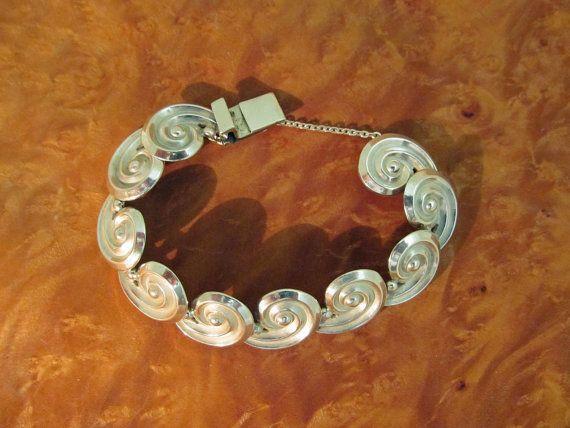 Los Castillo Bracelet Taxco Silver