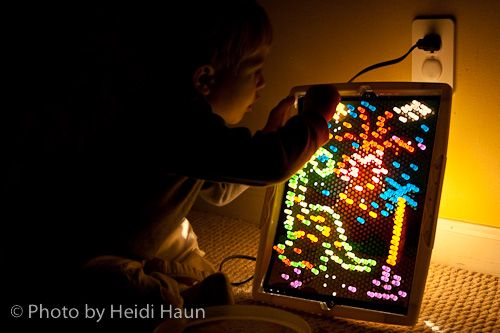 Lite Brite! One of my very favorite childhood toys