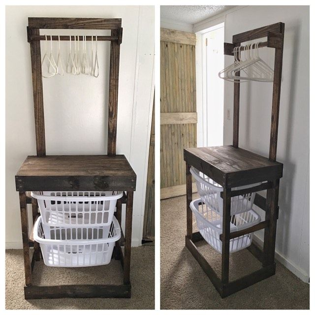 Pallet Laundry Station Laundry Table Home Diy Home Decor