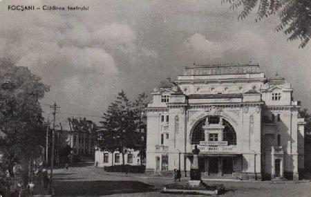 Focsani - Teatrul in 1917