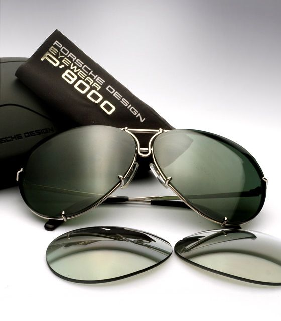 Porsche Design Sunglasses P'8478 Interchangeable Lenses Titanium